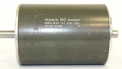 MAXON DC-SERVOMOTOR Typ F2260 MAM36/61 mit 2 Wellenenden (Dc-servo-motor)
