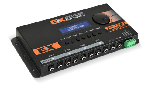 Banda Expert Electronics PX1 LIMITER PRO 4 Way Equalizer Crossover Processor