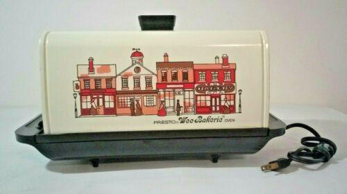 Vintage Presto Wee Bakerie Oven Model 340G