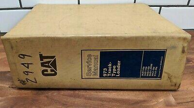 Caterpillar Cat 973 Track Type Loader Repair Service Manual - Vol 1-4