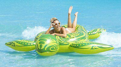 Kangaroo Swimming Pool Inflatable Float Gigantic Sea Turtle Pool Raft 8 Feet - Inflatable Turtle