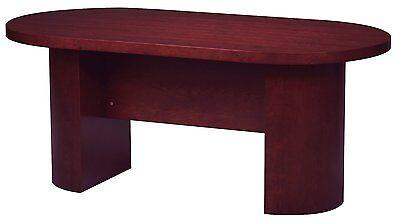 Gof 6 Wood Veneer Conference Table Mahogany Color 72w X 36d X 29.5h