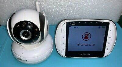 "Motorola 3.5"" Video Baby Monitor MBP36S - good working condition NO PSU"