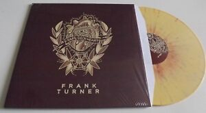 FRANK TURNER TAPE DECK HEART YELLOW VINYL LP SEALED