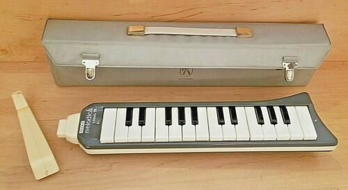 HOHNER Melodica Piano 26 Made in Germany with Case and Extra Mouthpiece Vintage