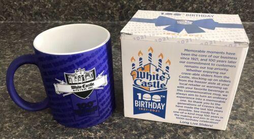 2020 WHITE CASTLE Coffee Cup Mug 100th Birthday 1921-2021 *Changes Colors* NIB