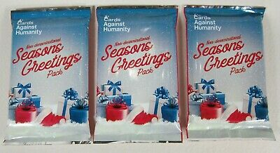 3-Cards Against Humanity Seasons Greeting's Non-Denominational Expansion Pack LE ()
