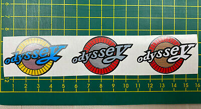 old school bmx decals stickers dyno drain pipe post decal white navy on clear