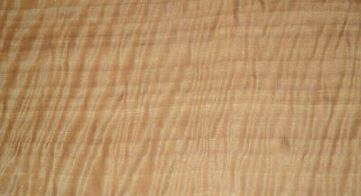 Curly Anigre Raw Wood Veneer Sheets 6.75 X 22 Inches 142nd Thick 4493-29