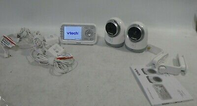 VTech VM3251-2 Video Baby Monitor TWO CAMERAS Automatic Infrared Night Vision