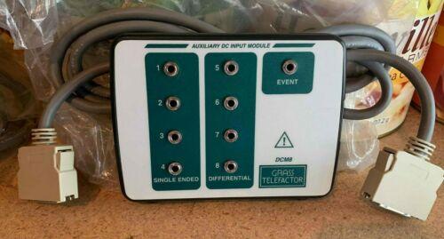 GRASS DCM8 DC INPUT MODULE for COMET EEG/PSG- 1 event input 30 DAY WARRANTY!