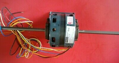 Fasco D289 Shaded Pole Motor 110 Hp 115v 5 Spdt 1050 Rpm Double Shaft