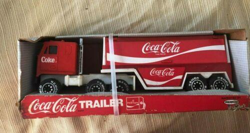 Remco Coca Cola Coke Trailer Truck 1988 #11042