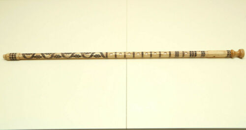 Kaval Flute. Albania - Macedonia 8-hole Woodwind Musical Instrument DO-C, 81 cm