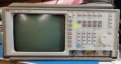 Hp Agilent 54503a Digitizing Oscilloscope - 500 Mhz 12 Out 12 Self-test Pass
