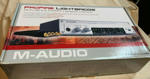 M-Audio Profire Lightbridge 32i/o ADAT, 2i/o SPDiF+MIDI+LR TRS out + Headphone