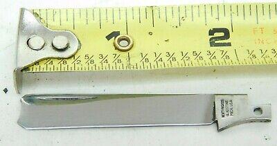 Northwoods Knives Cutlery Gladstone Michigan #67? Rozor Blade Folding Pocket QC