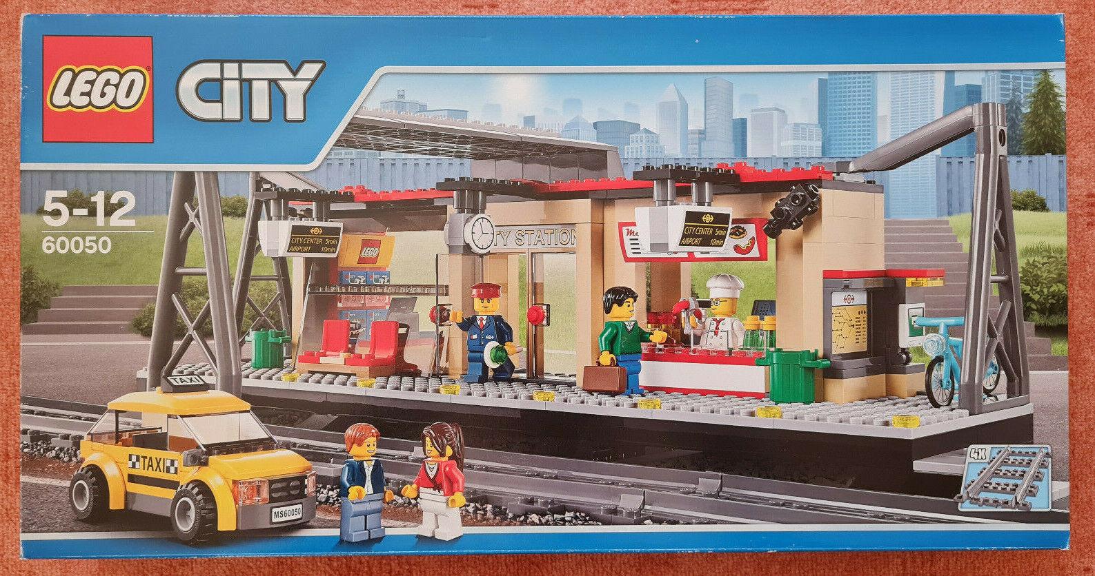 Lego 60050 City Eisenbahn Bahnhof