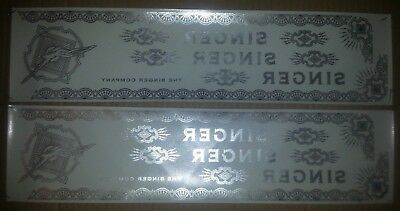 3x NOS SINGER Sewing Machine Decal Set EAGLE for Model 15 &