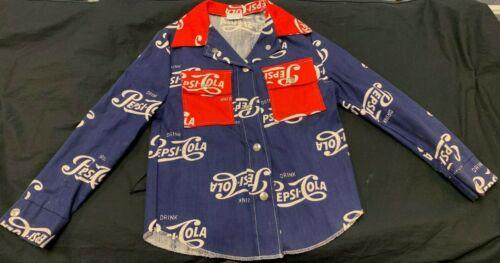 Genuine Carol Evans Pepsi Cola Size 7 Child