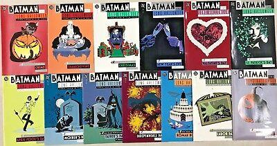 BATMAN THE ;LONG HALLOWEEN#1-13 VF/NM LOT 1997 FULL RUN DC COMICS