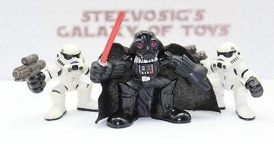 Star Wars Galactic Heroes Darth Vader Sith Lord Stormtrooper Lot