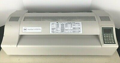 Gbc Heatseal H700 Pro Pouch Laminator Great Condition Heat Seal H 700