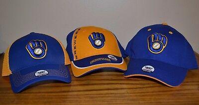 MLB  Milwaukee Brewers baseball caps, ASSORTED colors  Brand new with tags ](Milwaukee Brewers Baseball)
