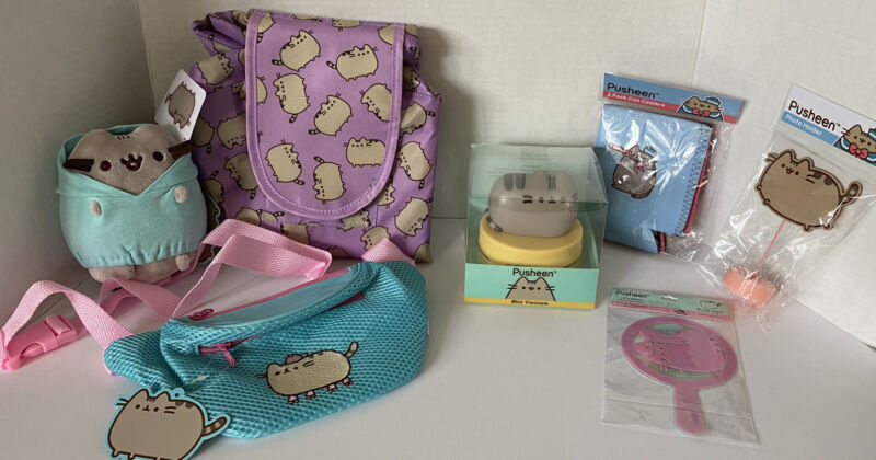 Pusheen Cat Huge Lot Of 12 Brand New Subscription Box Items