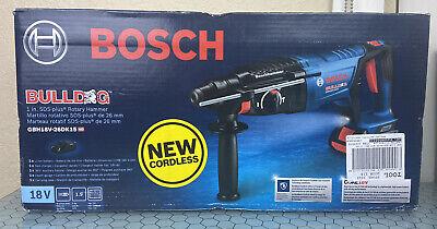 Bosch Bulldog 18v Cordless Hammer Drill Battery Charger. Brand New Open Box
