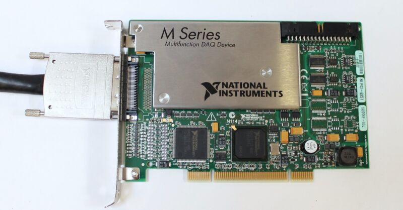 National Instruments NI PCI-6251 M-Series Multifunction DAQ w SHC68-68-EPM Cable
