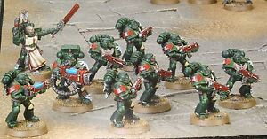 Warhammer 40k Dark Vengeance Dark Angels Tactical Squad - New