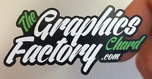 Custom Printed Vinyl Stickers Labels Decals Logo Sign Car Van Business LAMINATED