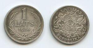 £8439 - Latvia 1 Lats 1924 KM#7 Silver Scarce XF Condition Lettland - <span itemprop=availableAtOrFrom>Großgmain, Österreich</span> - Widerrufsbelehrung: Widerrufsrecht Sie haben das Recht, binnen eines Monats ohne Angabe von Gründen diesen Vertrag zu widerrufen. Die Widerrufsfrist beträgt vierzehn Tage ab dem Tag, an - Großgmain, Österreich