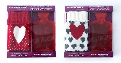 Instant Hand Warmers (LOVE HEART GIFT REUSABLE HOT WATER BOTTLE INSTANT HAND WARMERS TRAVEL HEAT PACK)