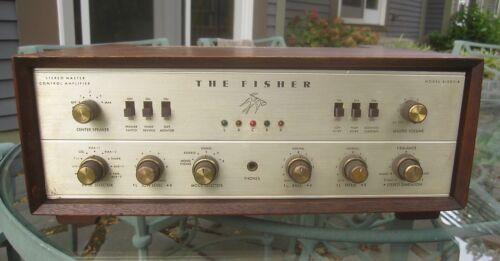 FISHER X-202-B Integrated 7591 Tube Amp - restored, walnut cabinet