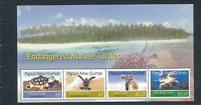 PAPUA NEW GUINEA PNG 2007 Wildlife TURTLES  MNH Minisheet (PAP 181)