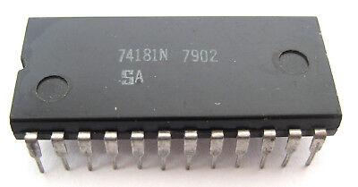 74181 Ttl 24 Pin Dip Ic Arithmetic Logic Unitfunction Generator Rare Device