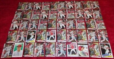 MIKE TROUT CARD LOT (50) LOS ANGELES ANGELS