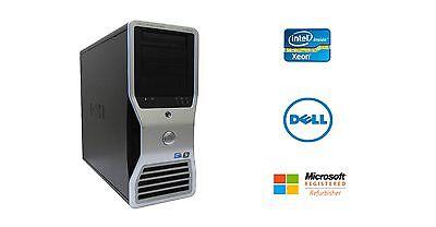 Dell Precision T7400 Intel Xeon 8 Core 3GHz 32GB RAM 2TB NVIDIA Dual GPU Win 10