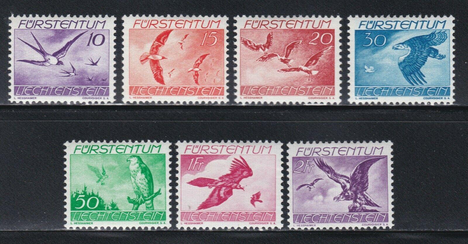 Liechtenstein - Scott s C17-23 - $4.50