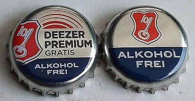 Crown Cap KK Bremen Becks Alkoholfrei Deezer Konvolut 2x Kronkorken Bottle Caps