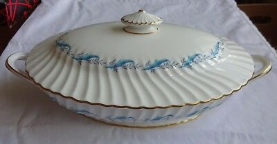 "Vintage Minton Tureen Height 5.5"" x 13.5"" x 7.5""  ""Downing"""