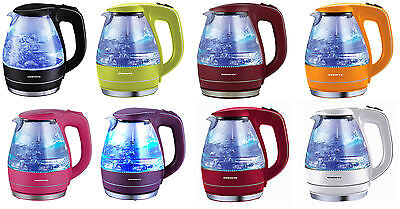 Ovente Kg83 Series 1 5L Bpa Free Glass Cordless Electric Kettle  8 Colors
