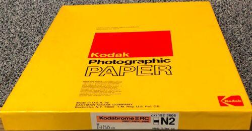 "Kodak Kodabrome N2 Photographic Paper 11""x14"" Single Weight(sealed-50 sheets)"