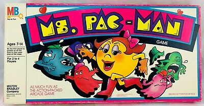 1982 Ms. PAC-MAN Game by Milton Bradley New Old Stock Brand New FREE SHIPPING