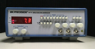 Bk Precision 4011a Function Generator Input 115vac60hz0.2a