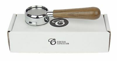Used, LA CIMBALI Bottomless Portafilter Espresso Walnut Handle Triple Shot 21g Basket for sale  Shipping to Ireland