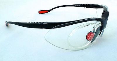 GELSHOCK: Clear KONTROL SPORTS Prescription (Prescription Tennis Sunglasses)