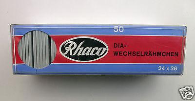 Rhaco Diarähmchen 5 x 5 cm , 24 x 36 , 50 Stück